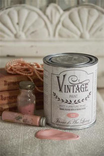 Vintage Paint de Jeanne d'Arc living - couleur Dusty rose