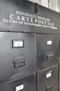 Pochoir Carte postale  de la collection Jeanne d'Arc Living
