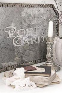 Pochoir Postcard  de la collection Jeanne d'Arc Living