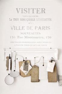 Pochoir Ville de Paris  de la collection Jeanne d'Arc Living