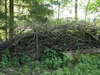 Totholzstapel