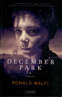 December Park Roland Malfi Buchcover Horror Bestseller
