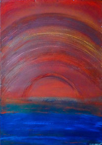 claracarat SUNSET OF VALENCIA-70X100 - PRIVAT COLLECTION