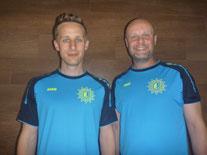 Trainer Duo Stefan und Thomas
