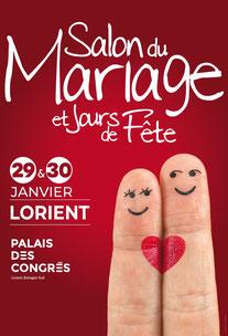 Salon du Mariage et Jours de Fête de Lorient 29 et 30 Janvier 2022