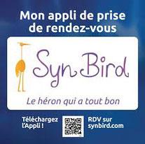 QR code pour télécharger l'appli Synbird