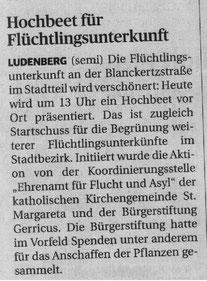 Rheinische Post, 15. Juli 2016