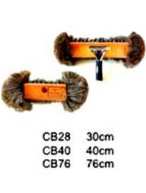 CB28, CB40, CB76. Cepillo Bola Natural. Medidas: 30cm, 40cm, 76cm. Wonderfultools.