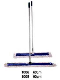 1006, 1005. Mop Completo Profesional con Bastón de Aluminio y Repuesto de Algodón  con Loneta. Medidas: 60 cm y 90 cm. Wonderfultools