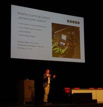 Foto GEC Offenburg 2018 Dr. Michael Mett Vortrag Hochgeschwindigkeits 3D Messsystem Dibit