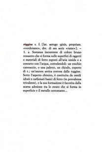 pagina tipografica a due colori