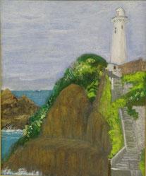 大王崎灯台 アクリル12号