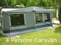 Camping Carpe Diem rental caravan