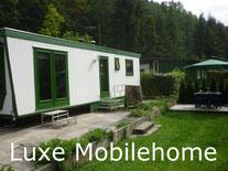 Camping carpe Diem caravan rental