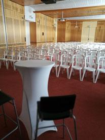 Tabouret confort  à louer pour conférence