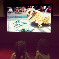 Learning about the Lion Dance