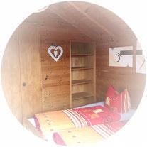 2. Schlafzimmer Zugang zum Balkon