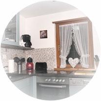 voll ausgestattete Küche  ChaletAuszeit