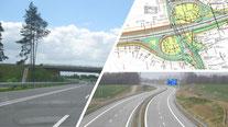 Autobahnen, Bundesstraßen & Ortsumgehungen
