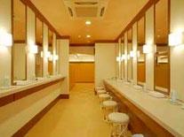 温泉の更衣室