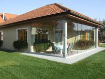 Terrassenschutz von der Glaserei Boog im Ruhrgebiet