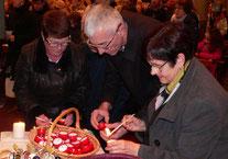 4- Préparation des votives pour la procession