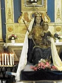 Vierge couronnée de la Chapelle ND de Kernitron