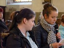 3-La prière universelle, lue par Morgane et Louise