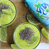 Ananas-avocado-limoen smoothie