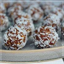 Hazelnoot-choco-kokos bliss balls