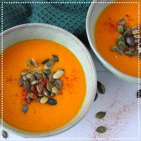 Pompoensoep met sinaasappel& gember