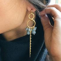 Boucles d'oreilles Les Brillantes