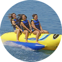 Banana Boat Riding Abu Dhabi