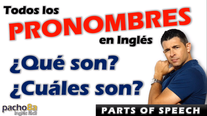 Tipos de pronombres en inglés - Pacho8a