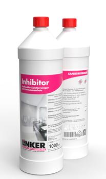 Inhibitor-Sanitär_Linker-Chemiue, Flasche