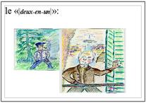 """André-Jacques du Quartier Floquet-bords de marne, le fameux """" deux en un""""..."""
