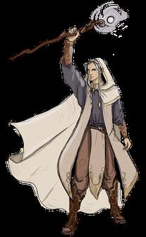 Amatus, Hauptfigur in Die Tore der Zeit