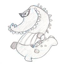 anne kraehn character design bugbox animation 2D