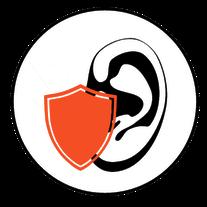 Ohr Schild Gehörschutz