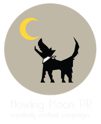 Lifestyle PR agency London. Howling Moon Logo