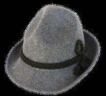 70050 Dreispitzhut grau, Marke Alpenhuat