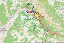 FSV Muggendorf: Wanderwegenetz Zentralregion