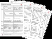zum Download für Sie: Anmeldeformular, Untermietvertrag etc.