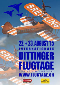 Dittinger Flugtage 2015 , Dittingen flugtage 2015, Swiss Airshow 2015
