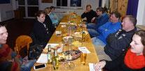 Ein überschaubarer Teilnehmerkreis und dennoch waren alle Mannschaften vertreten - zur Jahresversammlung TSHG.  Foto: W. Metschke