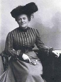 Clara Zetkin, créatrice du journal Die Gleichheit et grande militante du féminisme socialiste