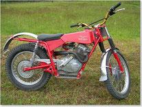 Moto Guzzi Stornello 160 Trial, aufgebaut von Walter Gsöll sen.