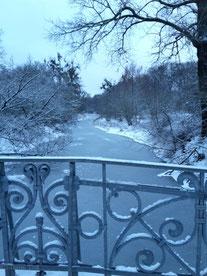 Blick von der Gralbrücke.