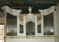 Orgel der Kirche Dobraschütz