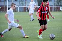 Youssef Sbou (re.) war mit drei Toren und zwei Assits mit fünf Sorerpoints dabei. Archivbild: Mathias Reß